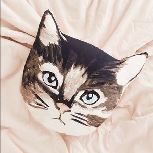 Urban Outfitters Cat Pillow